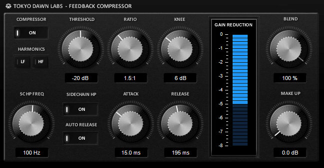 TDR Feedback Compressor