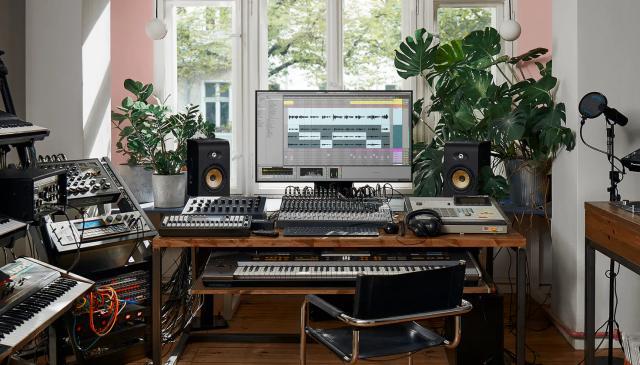 Ableton Live home studio