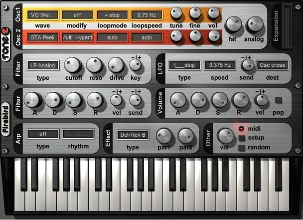 Tone2 Firebird