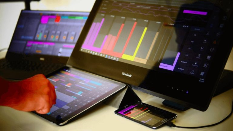 Touchable voor Ableton Live