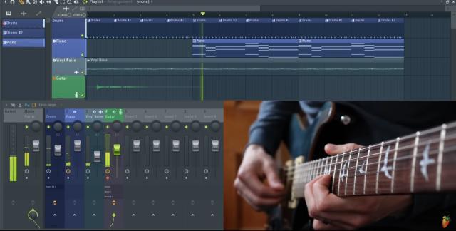 FL Studio - muziek maken met gitaar