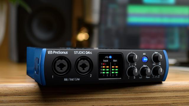 audio-interface voor home studio