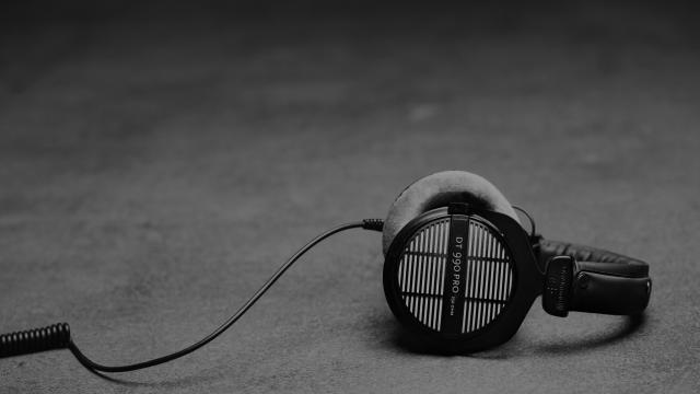 open hoofdtelefoon voor de home studio