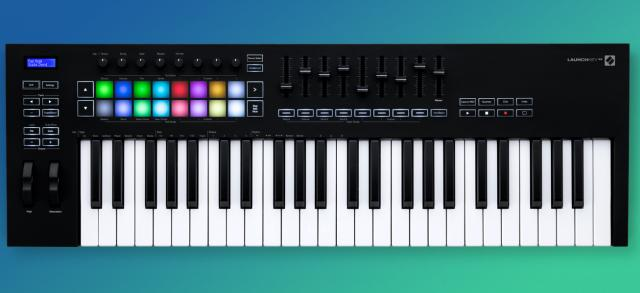 Master keyboard voor in de home studio