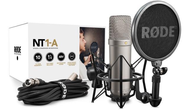 Condensator microfoon voor home studio