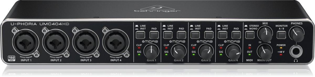 Behringer UMC404HD goedkope audio-interface
