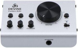 Devine Centro 2i2o budget audio-interface