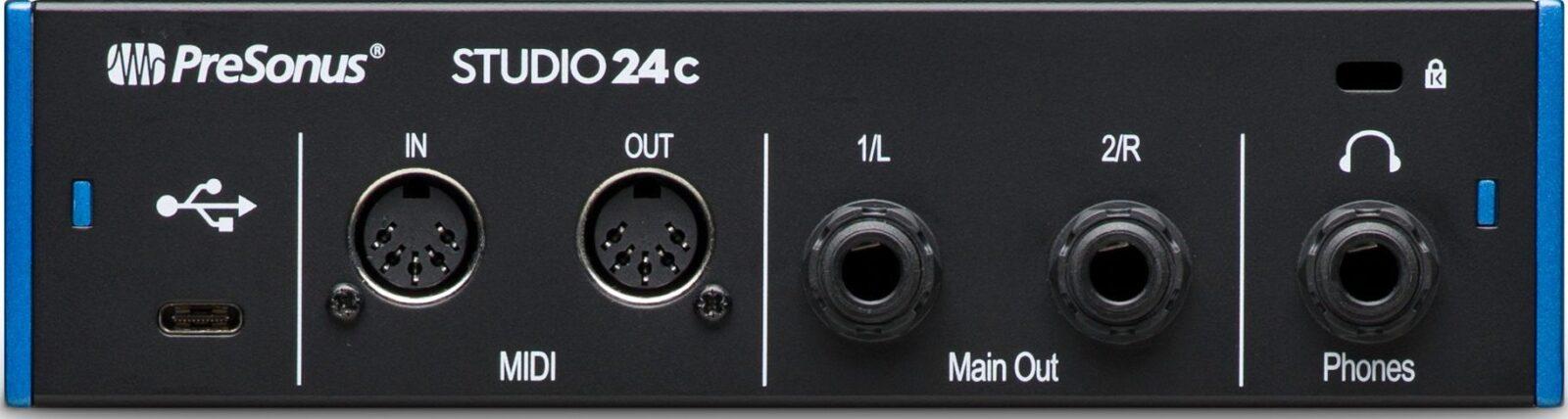 Presonus-Studio-24c usb audio interface