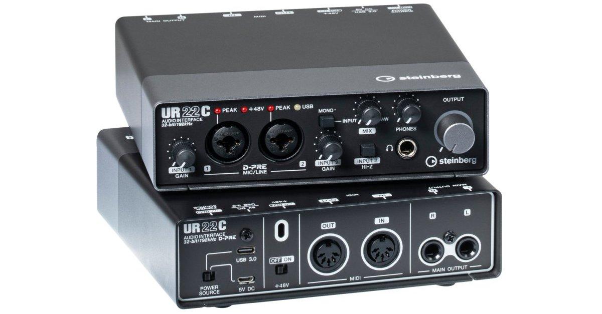 Steinberg UR22C usb audio-interface