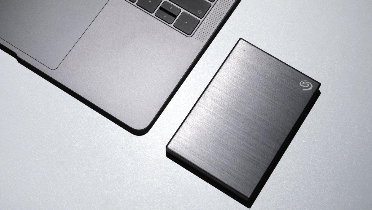 Externe harddisk geeft meer opslagruimte voor muziekprojecten en samples.