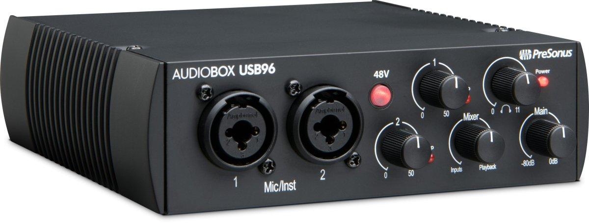 Presonus Audiobox 96 budget audio interface